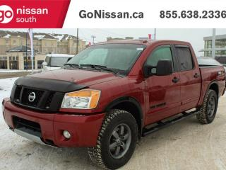 Used 2014 Nissan Titan PRO-4X- LEATHER, NAVIGATION, SUNROOF for sale in Edmonton, AB