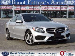 Used 2015 Mercedes-Benz C 300 4MATIC, PANORAMA ROOF, LEATHER SEATING for sale in North York, ON