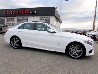 Used 2015 Mercedes-Benz C-Class C300 Sport PKG 4MATIC AMG Navigation Camera Certif for sale in Milton, ON