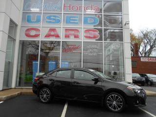 Used 2016 Toyota Corolla S HEATED FRONT BUCKET SEATS for sale in Halifax, NS