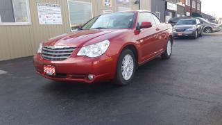 Used 2009 Chrysler Sebring Touring-HARD TO CONVERTIBLE for sale in Tilbury, ON