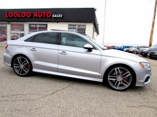 Used 2015 Audi S3 2.0T Premium Plus AWD SUNROOF BLUETOOTH CERTIFIED for sale in Milton, ON