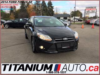 Used 2014 Ford Focus SE+Microsoft Sync+Heated Seats+BlueTooth+Cruise+++ for sale in London, ON