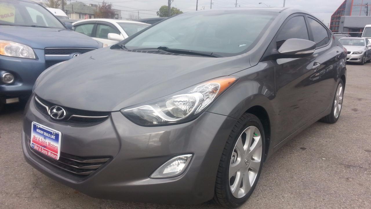 2013 Hyundai Elantra LTD **LEATHER**S-ROOF, AUTO