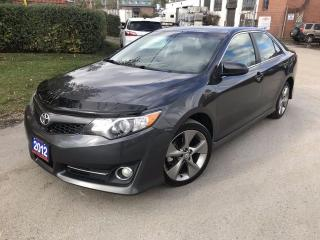 Used 2012 Toyota Camry SE | Navigation | Bluetooth for sale in Brampton, ON