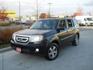 Used 2009 Honda Pilot EXL, 4WD, 8 Passenger, Backup camera, leaather, Su for sale in North York, ON