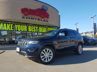 Used 2017 Jeep Grand Cherokee Limited PANO ROOF NAVI LEATHER COOLED SEATS for sale in Scarborough, ON
