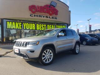 Used 2017 Jeep Grand Cherokee Limited NAVI PANO ROOF LEATHER R CAM for sale in Scarborough, ON