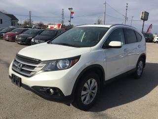 Used 2014 Honda CR-V TOURING * AWD * LEATHER * NAV * REAR CAM * SUNROOF for sale in London, ON