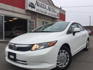 Used 2012 Honda Civic Lx, Eco mode, certified and e-tested for sale in North York, ON