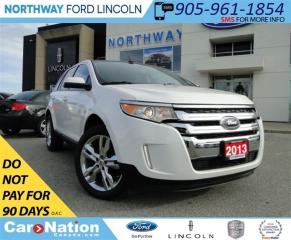 Used 2013 Ford Edge SEL | NAV | PANO ROOF | LEATHER | REMOTE START | for sale in Brantford, ON