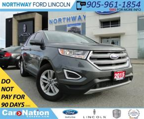 Used 2015 Ford Edge SEL | NAV | LEATHER | PANO ROOF | for sale in Brantford, ON