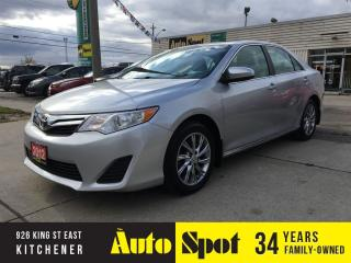 Used 2012 Toyota Camry LE/MINT!/PRICED FOR A QUICK SALE! for sale in Kitchener, ON