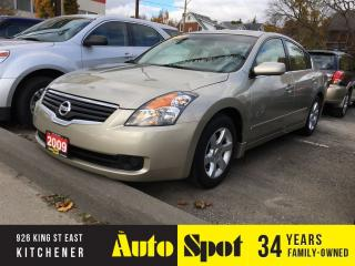 Used 2009 Nissan Altima 2.5 S/LOW, LOW KMS!/PRICED FOR A QUICK SALE! for sale in Kitchener, ON