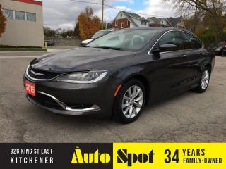 Used 2015 Chrysler 200 C/NAVIGATION!/LOADED/LOW, LOW KMS! for sale in Kitchener, ON