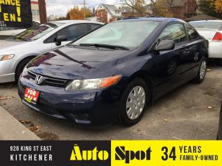 Used 2007 Honda Civic COUPE DX-G/LOW, LOW KMS/PRICED FOR A QUICK SALE! for sale in Kitchener, ON