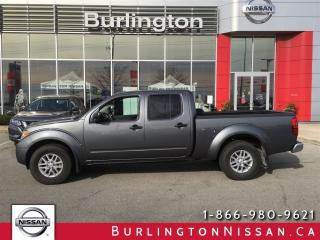 Used 2017 Nissan Frontier SV, 4x4, CREW CAB, ACCIDENT FREE ! for sale in Burlington, ON