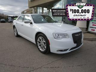 Used 2017 Chrysler 300 C - V6, GPS, Heated Seats, Back Up Cam, Bluetooth for sale in London, ON