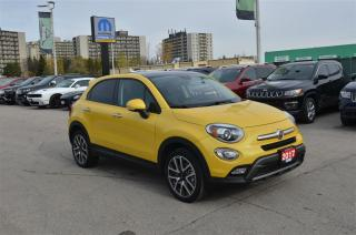 Used 2017 Fiat 500X Trekking - Back Up Cam, Bluetooth, Sunroof for sale in London, ON