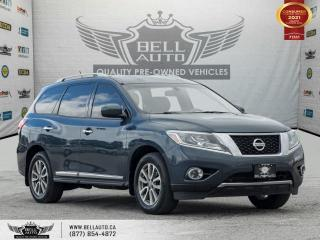Used 2014 Nissan Pathfinder SL, 4WD, 7Pass, Navi, RearCam, Sensors, B.spot, Leather for sale in Toronto, ON