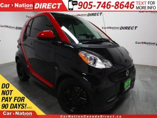 Used 2013 Smart fortwo passion| LEATHER| SUNROOF| HEATED SEATS| for sale in Burlington, ON