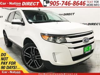 Used 2013 Ford Edge SEL| BACK UP CAMERA & SENSORS| LEATHER| for sale in Burlington, ON