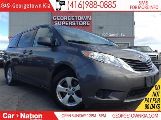 Used 2012 Toyota Sienna LE 8 Passenger | POWER DOORS | BACK UP CAM for sale in Georgetown, ON