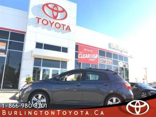 Used 2012 Toyota Matrix SPORT ALL WHEEL DRIVE for sale in Burlington, ON