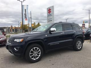 Used 2015 Jeep Grand Cherokee Limited ~Nav ~Panoramic Roof ~RearView Camera for sale in Barrie, ON