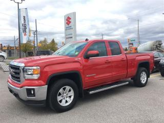 Used 2014 GMC Sierra 1500 SLE Ext Cab 4X4 ~Chrome Side Steps ~Power Seat for sale in Barrie, ON