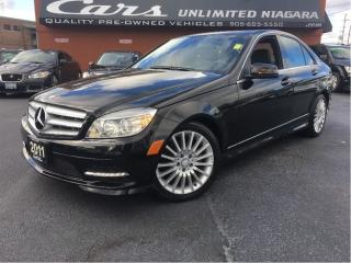 Used 2011 Mercedes-Benz C-Class C 250 | 4-MATIC | NAVI | ROOF ... for sale in St Catharines, ON