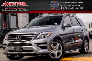 Used 2015 Mercedes-Benz ML-Class ML350 BlueTEC DVD|Park Assist. Pkgs|H/K Audio Surround Audio for sale in Thornhill, ON