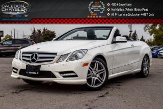 Used 2013 Mercedes-Benz E-Class E 350|Pwr Top|Navi|Backup Cam|Bluetooth|Heat and Vented Front Seats|18