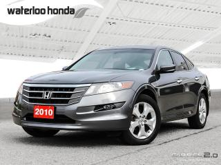 Used 2010 Honda Accord Crosstour EX-L Sold Pending Customer Pick Up...One Owner. AWD, Leather and More! for sale in Waterloo, ON