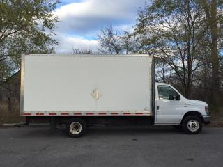 Used 2014 Ford Econoline CUBE 20'- V8! 16FT BOX! RAMP! A/C! FRESH OFF LEASE for sale in Belleville, ON