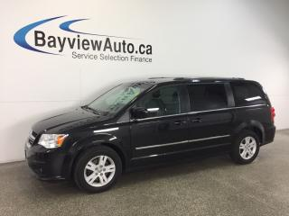 Used 2014 Dodge Grand Caravan CREW - REV CAM! BLUETOOTH! STOW 'N GO! HTD SEATS! for sale in Belleville, ON