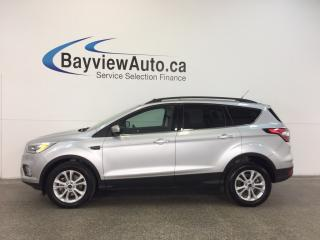 Used 2017 Ford Escape SE- 4WD|PANOROOF|ECOBOOST|HTD STS|REV CAM|SYNC! for sale in Belleville, ON