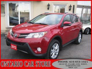 Used 2013 Toyota RAV4 Limited AWD NAVIGATION LEATHER SUNROOF for sale in Toronto, ON