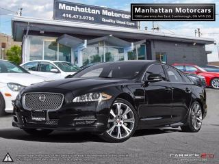 Used 2015 Jaguar XJ AWD PREMIUM LUXURY |NAV|CAMERA|B.SPOT|PANO|29000KM for sale in Scarborough, ON