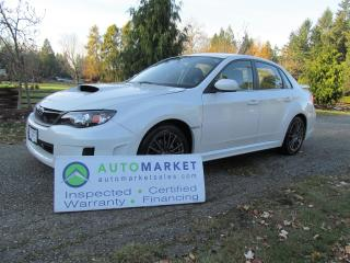 Used 2011 Subaru Impreza WRX 4-Door for sale in Surrey, BC
