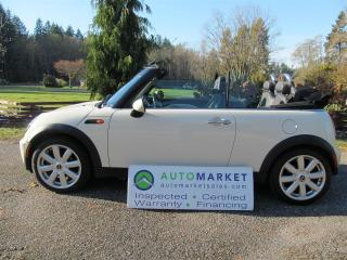 Used 2008 MINI Cooper Convertible, Auto, Inspected, Warranty and Great Financing for sale in Surrey, BC