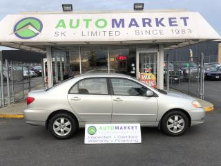 Used 2003 Toyota Corolla AUTO, PWR. GRP. WARRANTY! for sale in Langley, BC
