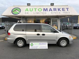 Used 2001 Honda Odyssey LX, LOW KM'S, WARRANTY! FINANCE IT! for sale in Langley, BC