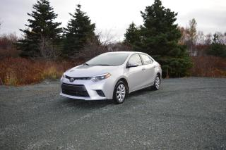 Used 2016 Toyota Corolla LE for sale in Conception Bay South, NL
