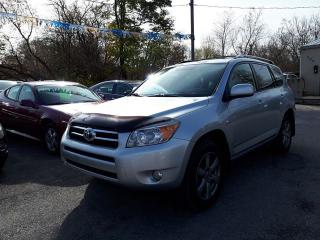 Used 2006 Toyota RAV4 Limited,4X4,,certified for sale in Oshawa, ON