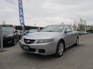 Used 2005 Acura TSX AUTO / LEATHER / SUNROOF/ ACCIDENT FREE for sale in Newmarket, ON
