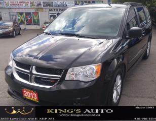 Used 2013 Dodge Grand Caravan SE, 7 PASSENGER, DVD PACKAGE for sale in Scarborough, ON