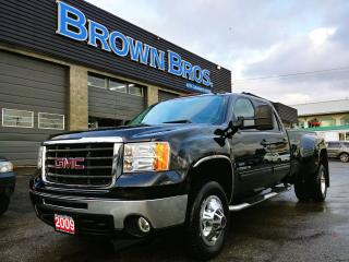 Used 2009 GMC Sierra 3500 SLT, Diesel, Navigation, 4X4, Duallie for sale in Surrey, BC