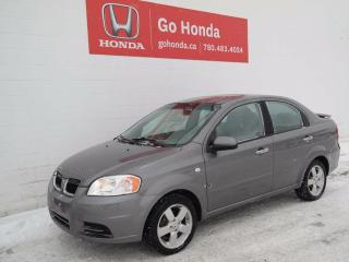 Used 2008 Pontiac Wave Base, AUTO, 4DOOR for sale in Edmonton, AB