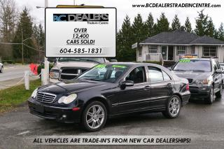 Used 2007 Mercedes-Benz C280 3.0L AVANTGARDE EDITION, Leather, Sunroof, Low K's for sale in Surrey, BC